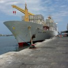 Mv Hellas Reefer in Paita